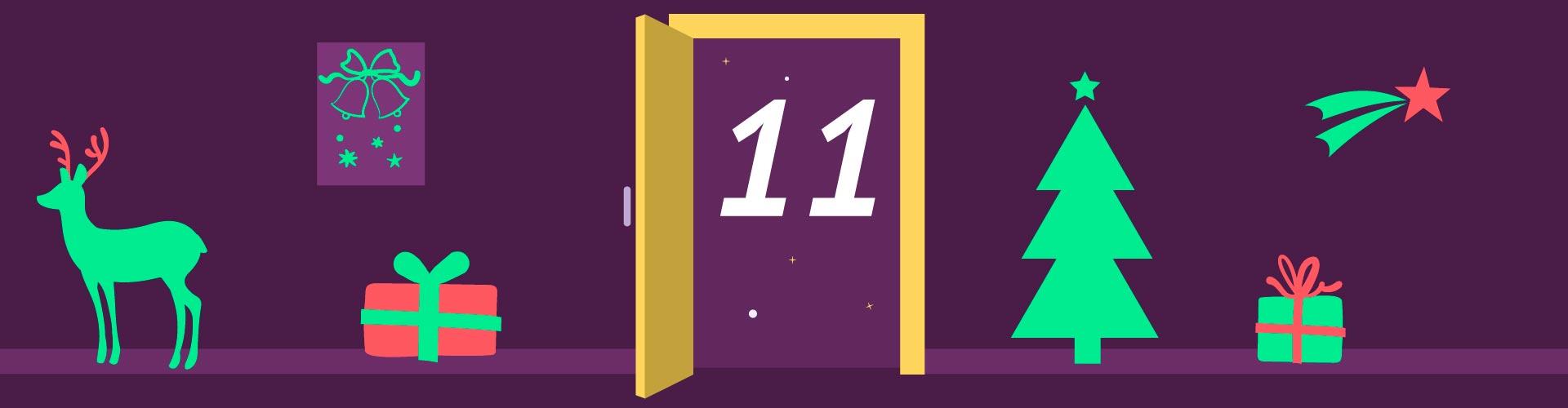 11. Türchen /  Zahlen – Fakten = ?