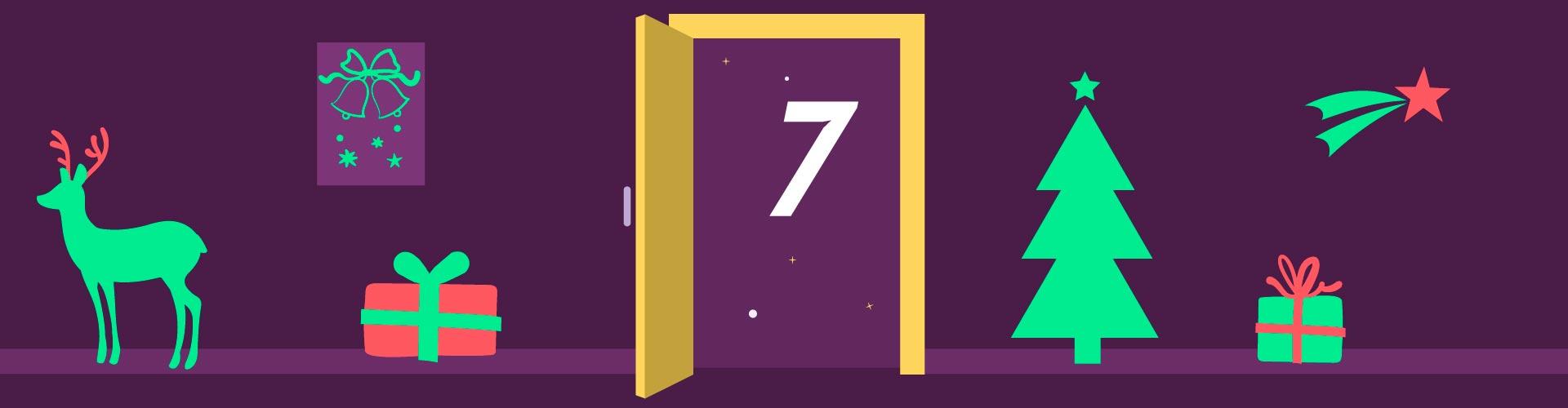 7. Türchen /  Zwei Blicke